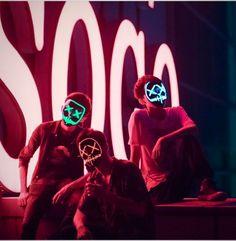 New LED Purge Mask for Halloween Costume party Light Up Mask Gas Mask Art, Masks Art, Mascaras Halloween, Halloween Masks, Hacker Mask, Cold Light Of Day, Fc Barcelona Wallpapers, Led Light Mask, Supernatural