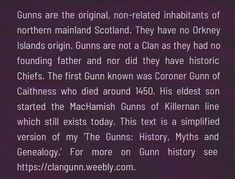 Back of cover. 'The real history of (Clan) Gunn' is the short hardback version of my 'The Gunns: History, Myths and Genealogy.' Both tell real Gunn history for the first time. Gunns are from north mainland Scotland. They are not a Clan as they had no founder nor did they have historic Chiefs. The Senior MacHamish line ('Clan Gunn Chief' line for those who like that fantasy) still lives. The invention of a Clan Gunn Chief' in 2015 is wrong for many reasons, including legal ones. Orkney Islands, Genealogy, First Time, Scotland, Fantasy, History, Cover, Historia, Fantasy Books