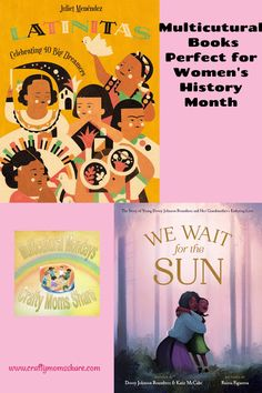 New Multicultural Books Perfect for Women's History Month Hispanic History Month, Leveled Books, Hispanic Women, Civil Rights Activists, Women's History, Sweet Memories, Story Time, Favorite Holiday, Teaching Kids