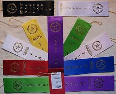 Other Wholesale Sporting Goods 26423: 200-Lot 1St, 2Nd, 3Rd, 4Th, Place Award Ribbons With Cards And String Your Choice -> BUY IT NOW ONLY: $72.9 on eBay!
