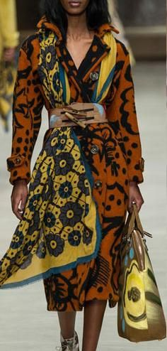 Estampados Burberry  #Londres #FashionWeek #Tendencias #Estampados #Prints