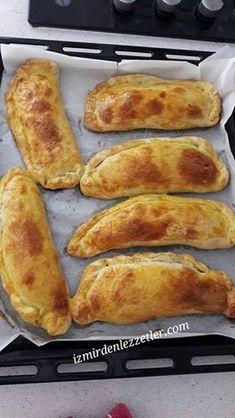 Kıymalı Patlıcanlı Empanadas, İzmirdenlezzetler Oya Genç