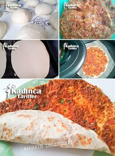 Lahmacun Tarifi Turkish Recipes, Italian Recipes, Ethnic Recipes, Greek Cooking, Cooking Time, Minced Meat Recipe, Fresh Fruits And Vegetables, Iftar, International Recipes