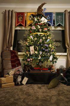 Harry Potter Christmas Tree ⚡️