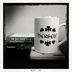 #Herself #IrishCoffee 8x8 #Photography #Print #StPatrick'sDay #Irish #Ireland #Holga #Lomo #Retro #Art #Coffee #Travel #Book #Bibliophile