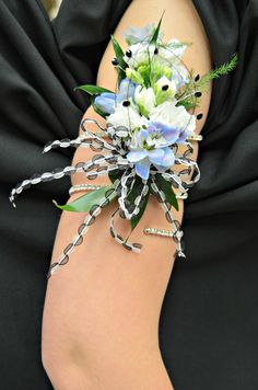 This prom season, consider an armband corsage for that funky girl in your life!