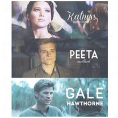 Hunger Games / Catching Fire / Peeta / Katniss / Gale
