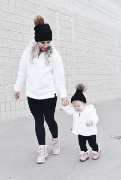 25108af14 Mom and Daughter Matching Winter Outfits - Get inspo for the perfect mommy  and daughter matching