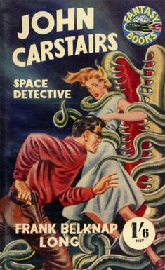 """1951 vintage Science Fiction paperback """"John Carstairs: Space Detective"""""""