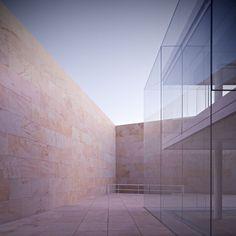 Offices for the Junta de Castilla y Leon in Zamora, Spain by Alberto Campo Baeza Architects
