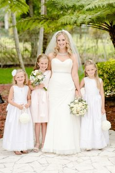 Fort Myers Wedding at The White Orchid from Riversedge Lifestyle Photography  Read more - http://www.stylemepretty.com/florida-weddings/2013/07/11/fort-myers-wedding-at-the-white-orchid-from-riversedge-lifestyle-photography/