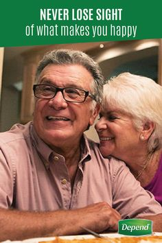 Don't let incontinence prevent you from spending time doing the things that make you happy. Depend® is giving people everywhere the confidence to reconnect with the lives and people they've been missing. Click to watch their stories to see how you can get back to what makes you happy!