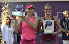 Simona Halep and Roberta Vinci | Bucharest Open