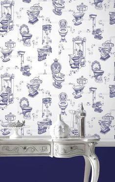 Patterned Bathroom Wallpaper Is Brilliant For Adding A Bit Of Charm And  Character To Your Surroundings