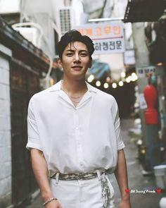 Ji Chang Wook Abs, Ji Chang Wook Smile, Korean Male Actors, Korean Celebrities, Celebs, Park Hae Jin, Park Seo Joon, Asian Love, Asian Men