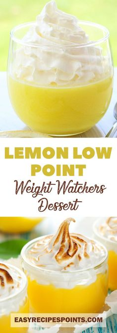 Lemon Dessert (Weight Watchers) = 1 Point Only! #dessert #lemon #weight_watchers #recipe #foodrecipe #lowcarb