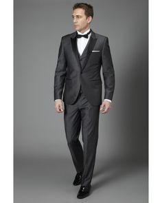 Self-Conscious Custom Made Gray/royal Blue/white/black Mens Classic Formal Business Slim Fit Shawl Lape Dress Vest Suit Groom Tuxedo Waistcoat Men's Clothing Suits & Blazers