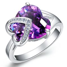 tusakha 1.80ctw Pear Shaped Created Red Garnet /& White CZ 14k Rose Gold Over .925 Sterling Silver Halo Teardrop Engagement Ring For Women