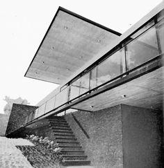 Casa Flores, Lomas de Tlacopac, México DF 1956    Arq. Manuel González Rul    Fotos. HM Arriaga