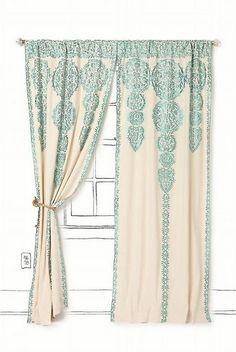 Marrakech Curtain(Anthropologie)
