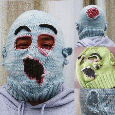 Halloween fun: gross knitted zombie masks! Let us download the PDF for you, and receive credit toward your next Sheepish Reward coupon.