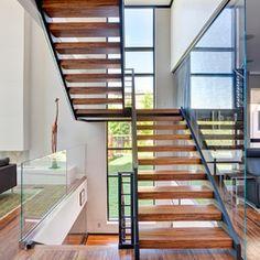 split level staircase design - Google Search