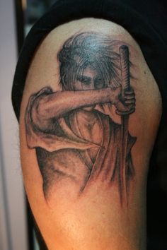japanese shoulder tattoo - Google Search