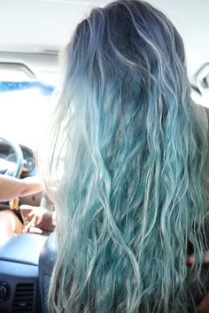 @Lesley Howard Howard Howard Holody Herrington and @Katie Hrubec Schmeltzer Schmeltzer Schmeltzer Mermaid hair.
