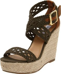 Steve Madden Women's Magestee Wedge Sandal $69.00 - $69.95   Even better color