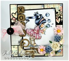 Paper Crafting in Cocoa: Whimsy Showcase Day 7 - XOXO
