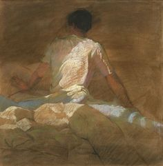 Sally Strand  - ARISING, Pastel and Mixed Media on Paper.