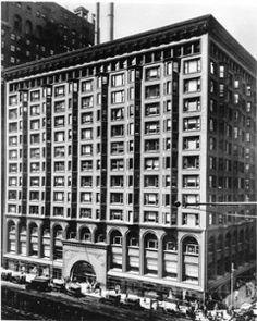 #RealChicago #Chicago #history #1900s #blackandwhite #stockexchange