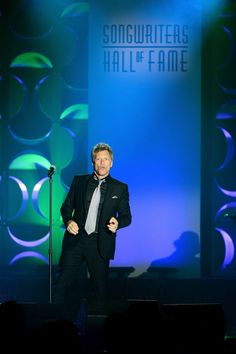 Jon Bon Jovi Jon Bon Jovi performs onstage at the Songwriters Hall of Fame 45th Annual Induction and Awards at Marriott Marquis Theater on June 12, 2014 in New York City.