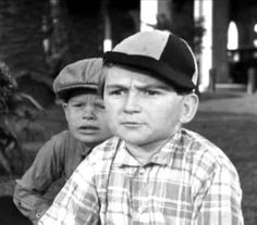 """Kendall McCormas as Breezy Brisbane of """"Our Gang"""" The Little Rascals"""