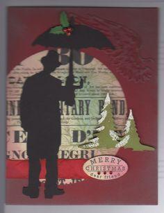 Umbrella Man Card Swap Challenge Charles Chaplin
