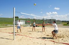 Beachvolley in Hotel Kaskady  #luxury #holiday #hotel #kaskady #freetime #volleyball #play #sport