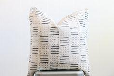 20x20 Vintage Mali African Mudcloth Textile by VillageComfort