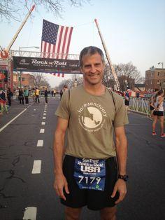 Q  & A with vegan marathoner Gene Bauer