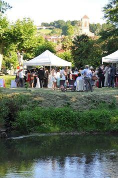Mariage à Iduki au bord de la rivière  http://www.mariage-pays-basque.fr/