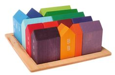 NEW ITEMS 2013 : Small Houses, handpainted