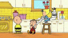 Linus's blanket - I love this!