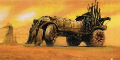 Mad Max: Fury Road concept art from 15 years ago