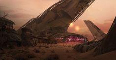 Eddie Mendoza | concept for a junkyard planet