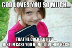 thats some good logic there christians.