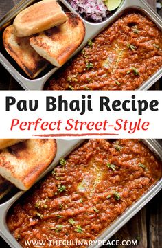A step by step recipe to make the popular Indian street food Pav Bhaji at home. Includes tips and tricks to make the best Pav Bhaji with less butter. It is a vegetarian Indian food recipe that can be easily made vegan using vegan butter. #pavbhaji #indianstreetfood Lunch Recipes, Easy Recipes, Easy Meals, North Indian Recipes, Indian Food Recipes, Vegetarian Curry, Vegetarian Recipes, Quick Curry Recipe, Healthy Food Habits