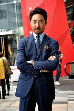 MITYP: on the street .. Aoyama - Mr. Lapo Edovard Elkann / 世界一洒落な男、ラポ・エルカーン氏 -