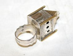 Russian Antique Judaica Sterling Silver 84 Bridal Wedding Ring 19th Century   eBay