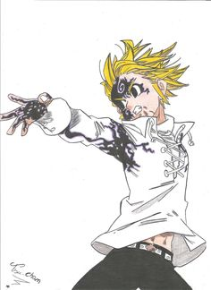 Nanatsu no Taizai (The Seven Deadly Sins) Meliodas/manga
