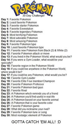 Ok you guys this is what I'm going to be doing for the next 30 days! Leave comments each day bc I would like to hear your thoughts on each day! :3