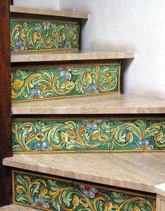 Ceramic Stairs by Fraida Gutovich